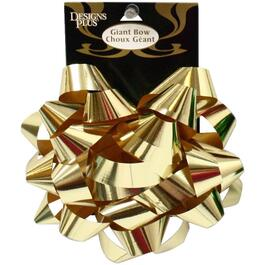 "6"" Metallic Star Gift Bow, Assorted Colours thumb"