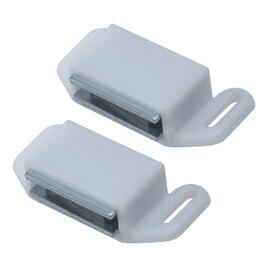 2 Pack White Magnetic Catches thumb