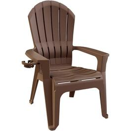 Earth Brown Big Easy Stacking Adirondack Chair thumb