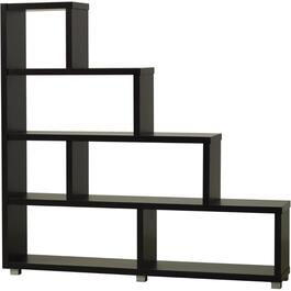 "4 Tier 64.5"" x 60.5"" Espresso Pandy Bookcase thumb"