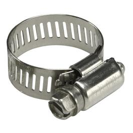 "25 Pack #4 1/2"" All Stainless Steel Hose Clamps thumb"