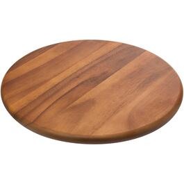 "15.7"" Wood Acacia Lazy Susan thumb"