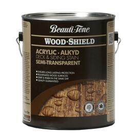 3.64L Semi Transparent Walnut Alkyd Acrylic Wood Stain thumb