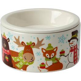 2 Piece Porcelain Woodland Friends Dipping Dish, with Ice Holder thumb