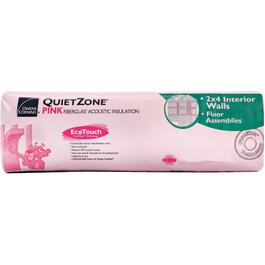 "1.5"" x 24"" Quietzone Pink Insulation, covers 304 sq. ft. thumb"