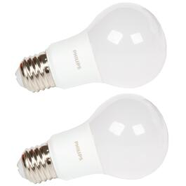 2 Pack 5W A19 Medium Base Daylight Non-Dimmable LED Light Bulbs thumb