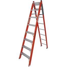 8' #1 Fiberglass 3-Way Ladder thumb