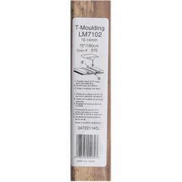 "1-3/4"" x 72"" Thresher Maple Laminate T-Moulding thumb"