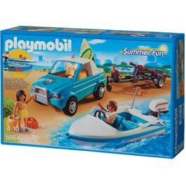 Surfer Pickup and Speedboat Playset thumb