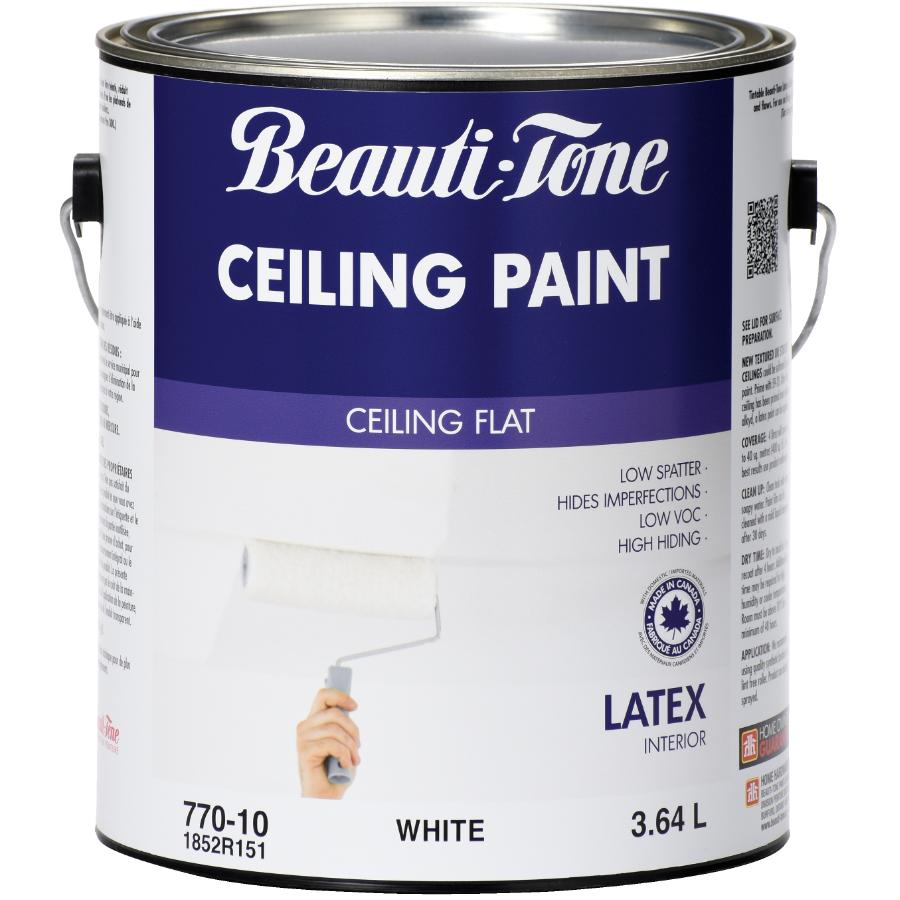 White Interior Flat Latex Ceiling Paint