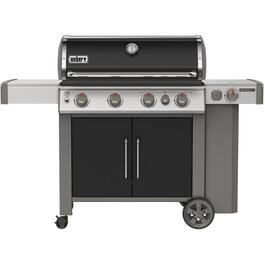 Genesis II E-435 3 Burner +  Side Burner 669 sq. in. 39,000BTU Black Propane Barbecue thumb