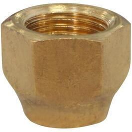 "3/8"" Brass Flare Nut Forged thumb"
