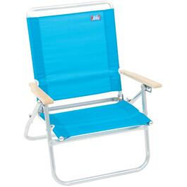 3 Position Aluminum Beach Chair, Assorted Colours thumb