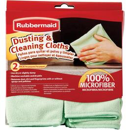 2 Pack Microfibre Dusting and Cleaning Cloths thumb