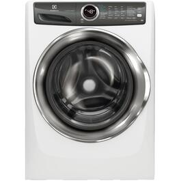 8 cu. ft. White Steam Dryer thumb