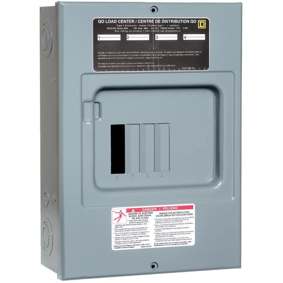 Eaton 60 Amp Ac Circuit Switch Box Home Hardware Canada House Wiring Code 4 Surface Mount Loadcentre