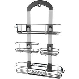 Satin Stainless Steel U3 Shower Caddy thumb