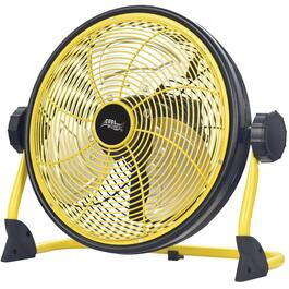 "12"" High Velos Rechargeable Lithium-Ion Battery Operated Floor Fan thumb"