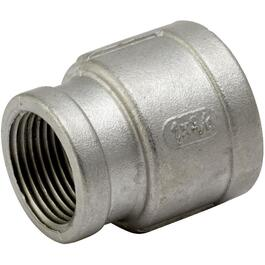 "1"" x 3/4"" Stainless Steel Reducing Coupling thumb"
