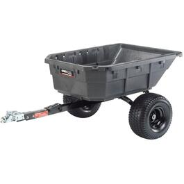 12.50Cu.Ft. 1250lb Swivel Poly Dump Cart thumb