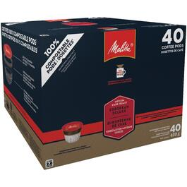 40 Pack Single Serve European Deluxe Medium Dark Roast Cups thumb