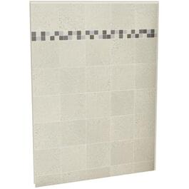 "60"" Sahara Stone U Tile Back Shower Wall thumb"