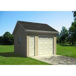 Drywall Option Package, for 16' x 20' Garage thumb