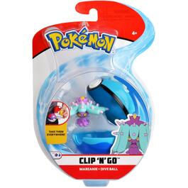 Clip'N'Go Pokeman Ball Figures, Assorted Types thumb