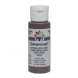 2oz Brown Iron Ox Acrylic Ceramcoat Craft Paint thumb