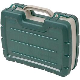"11"" Green/Grey Double Satchel Tackle Box thumb"