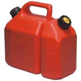 6L Plastic Gas and 2.5L Oil Comb Can thumb