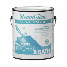 3.40L Kitchen & Bath Clear Base Velvet Finish Interior Latex Paint thumb