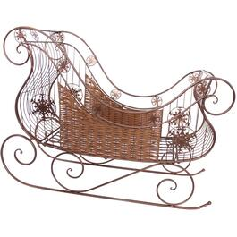 "48"" Metal Decor Sleigh thumb"