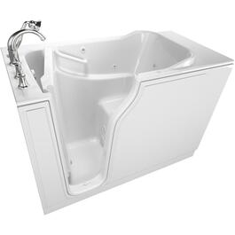 "52"" x 30"" Left Hand 8 Jet Whirlpool Walk-In Tub thumb"