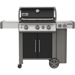 Genesis II E-335 3 Burner + Side Burner 669 sq. in. 39,000BTU Black Natural Gas Barbecue thumb