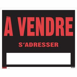 "19"" x 24"" A Vendre Sign thumb"