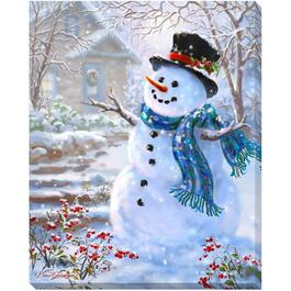 "20"" x 16"" Canvas Christmas Wall Art, Assorted Designs thumb"