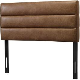 Caramel Air Leather Queen Headboard thumb