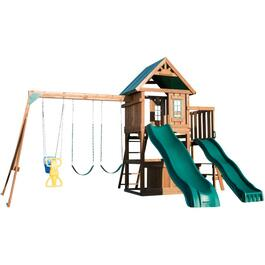 Complete Willow Peak Wooden Play Fort Kit thumb