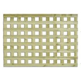"1-3/4"" x 1' x 8' Green Georgian Pressure Treated Lattice thumb"