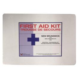 New Brunswick Professional First Aid Kit, for 2-49 People thumb