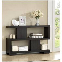 "3 Tier 47"" x 31"" Brown Duke Bookcase thumb"