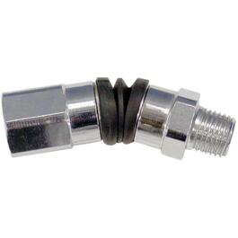 "1/4"" Female x 1/4"" Male National Pipe Thread Free Angle Fitting thumb"