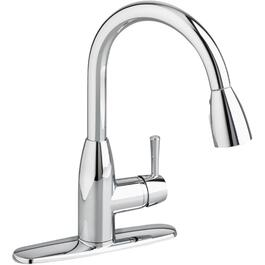 Fairbury Chrome Pulldown Kitchen Faucet Deck thumb