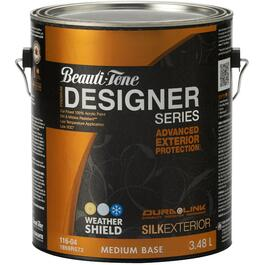 3.48L Silk Finish Medium Base Exterior Latex Paint thumb