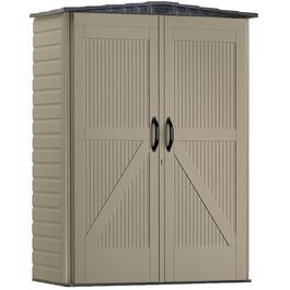 "4',6"" x 6',4"" Small Roughneck Vertical Storage Shed thumb"