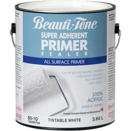 3.64L White Interior/Exterior Latex Primer thumb