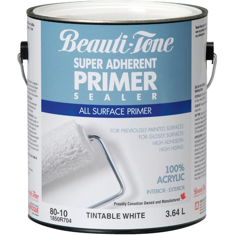 BEAUTI-TONE 3 64L White Interior/Exterior Latex Primer