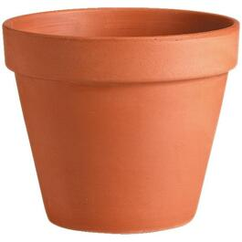 "10"" Terra Cotta Clay Bell Planter thumb"