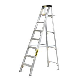 8' #1A Aluminum Step Ladder thumb